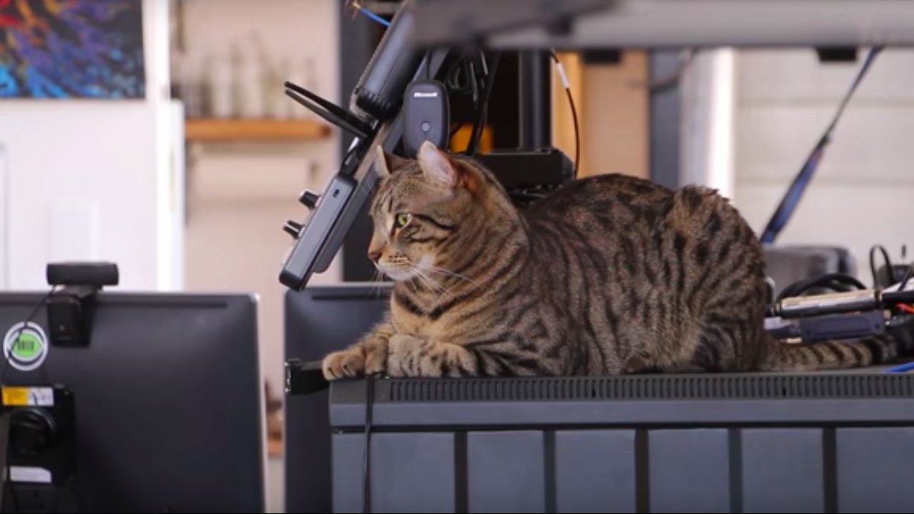 Featured image of 3D Printed Flying Camera Enables Fans to Play with Tuco the Cat