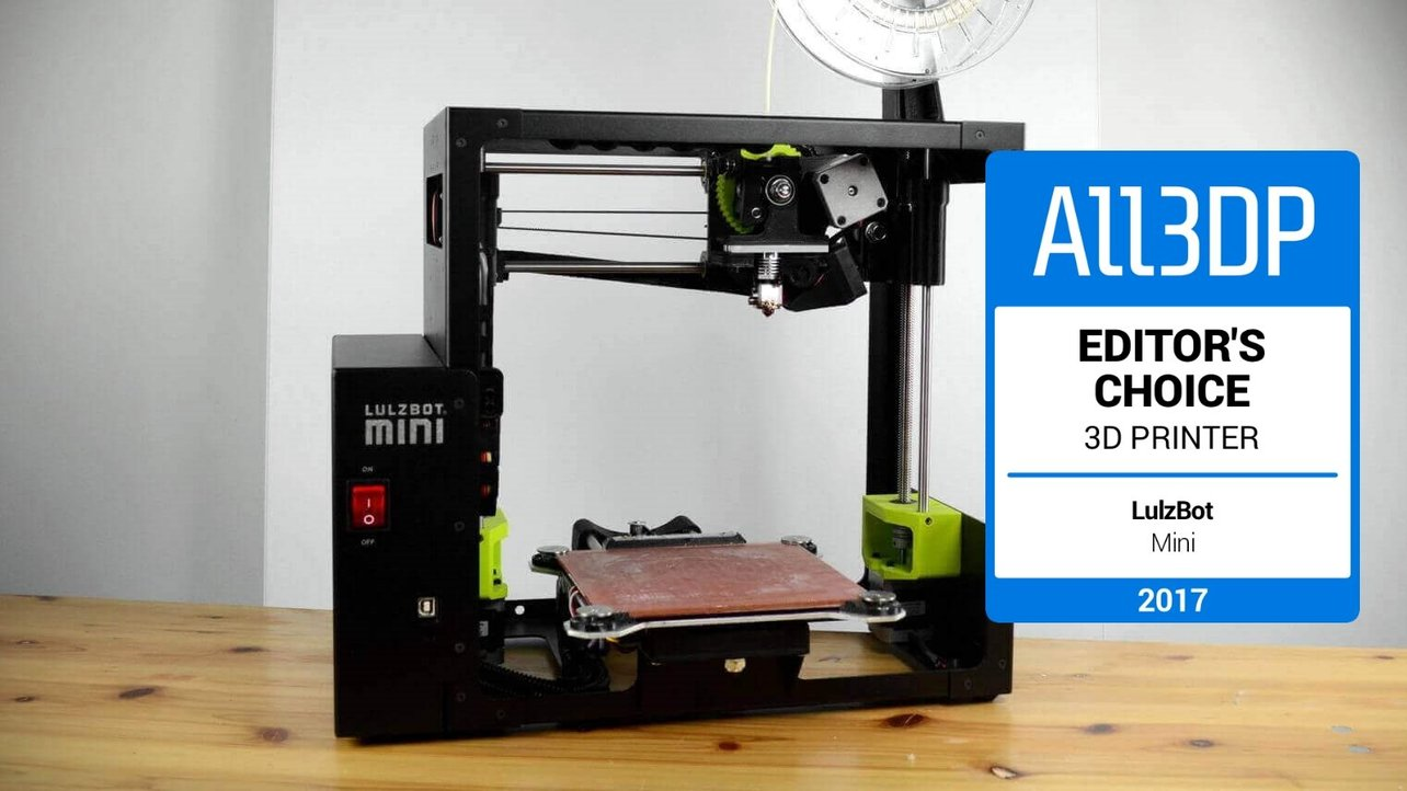 Featured image of LulzBot Mini Review: This Mighty 3D Printer Does the Job