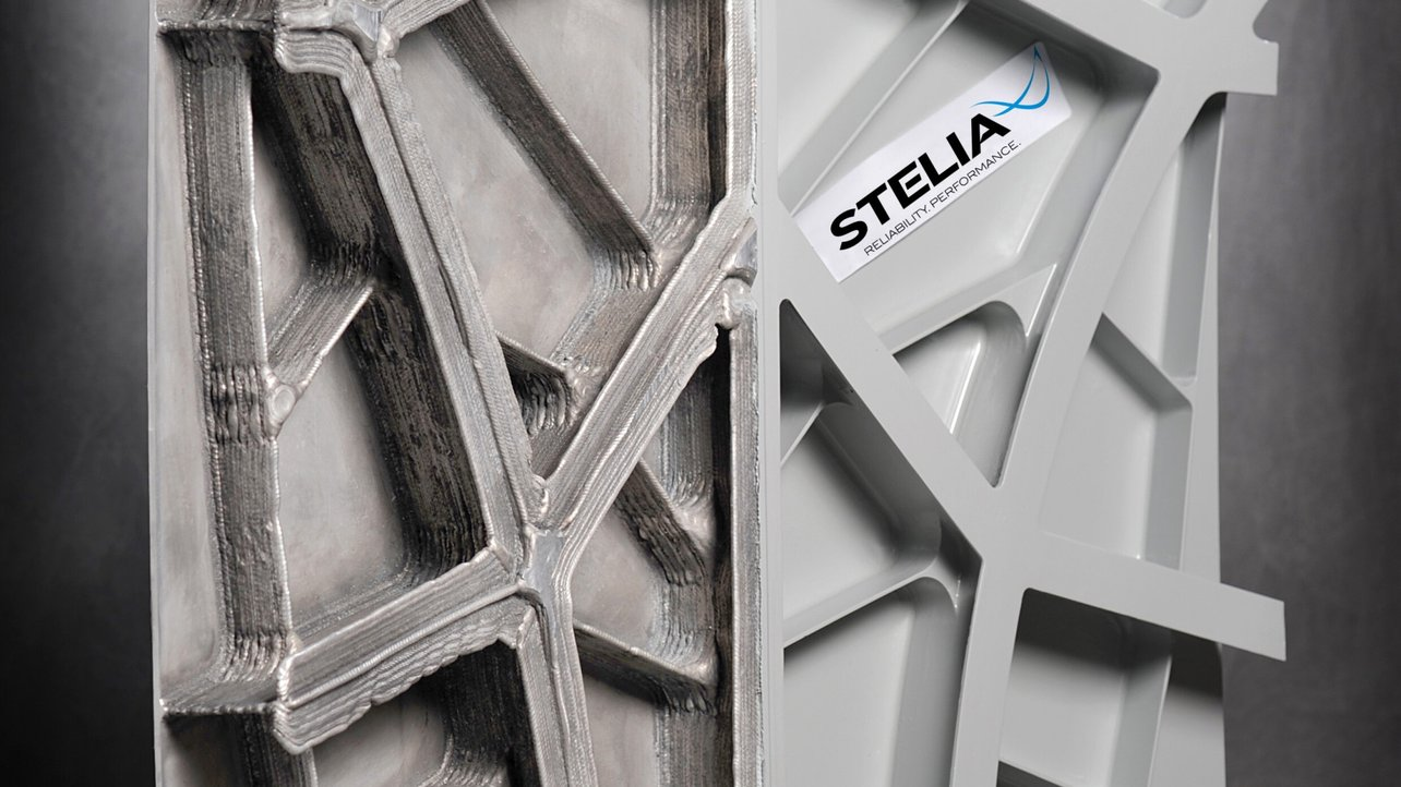 Featured image of Stelia Aerospace Demos Cheap, Light and Strong Aircraft Fuselage Using WAAM