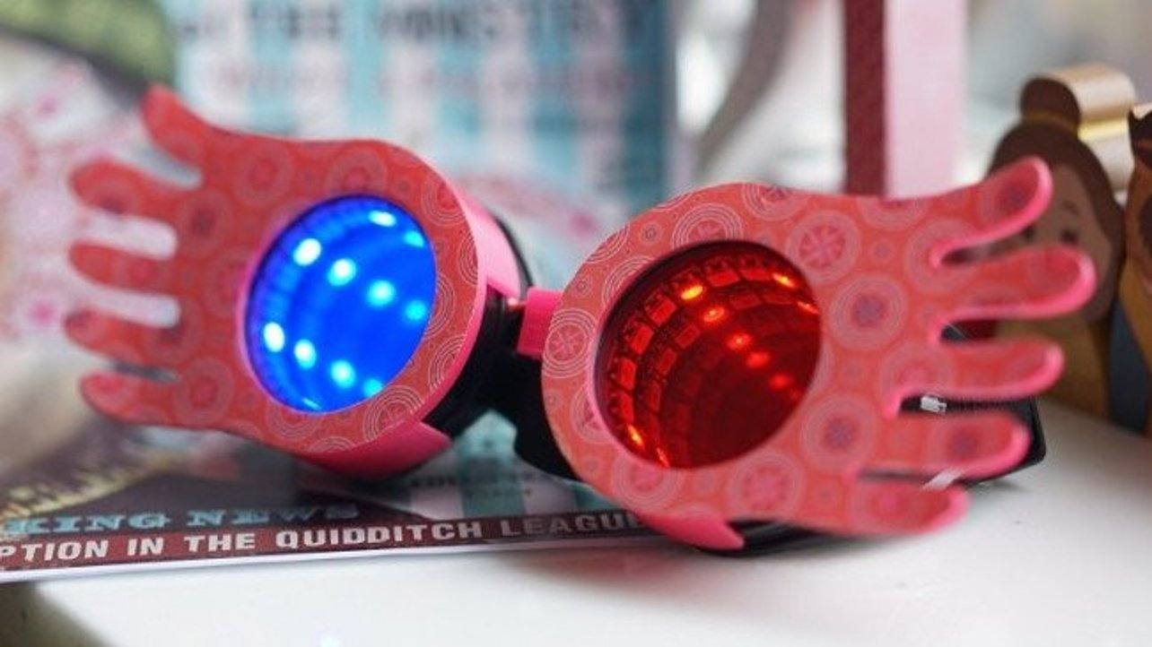 Featured image of [Project] 3D Printed Harry Potter Spectrespecs with LED Lights