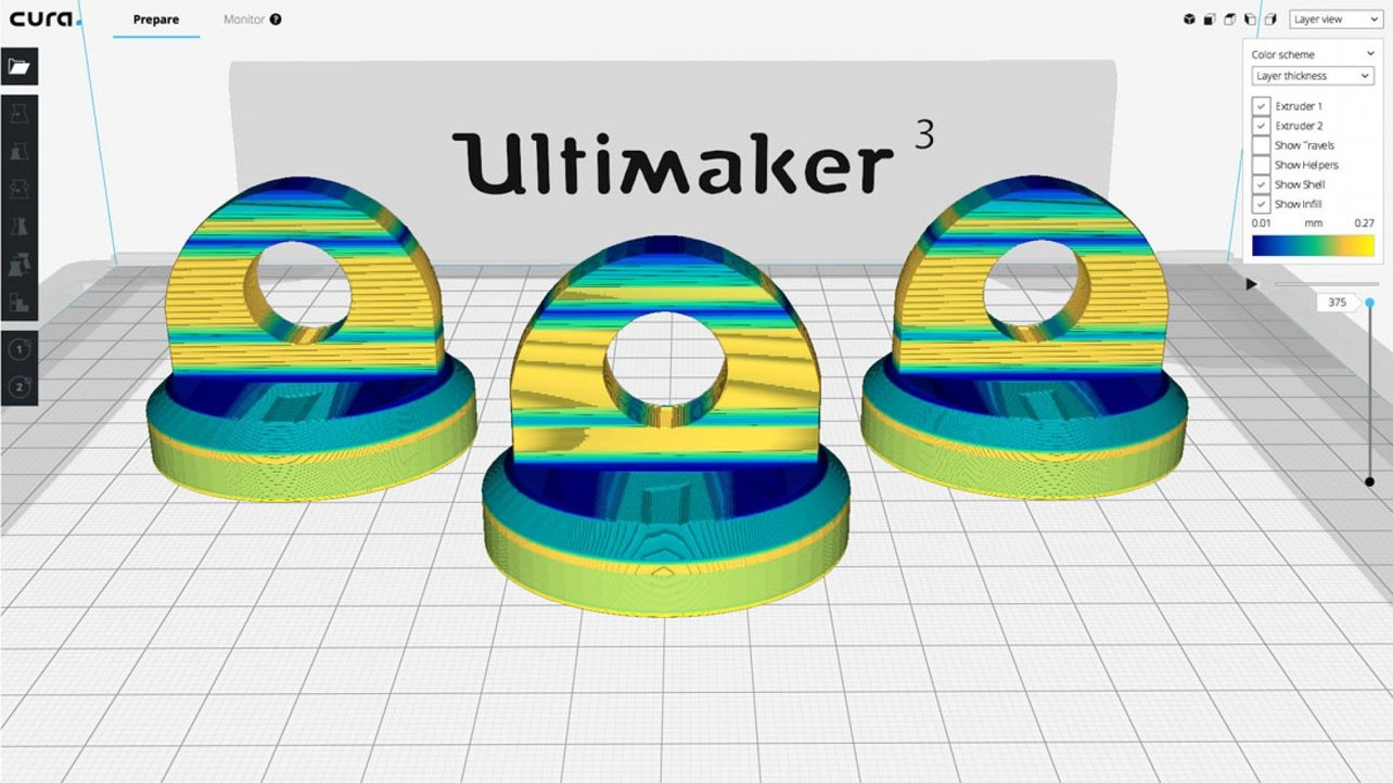 Featured image of Ultimaker Cura 3.2 Adds Experimental Supports and Layer Features, Improves UI