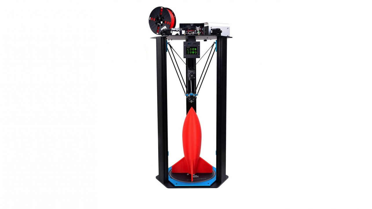 Featured image of 2018 Tevo Little Monster Delta 3D Printer – Review the Specs