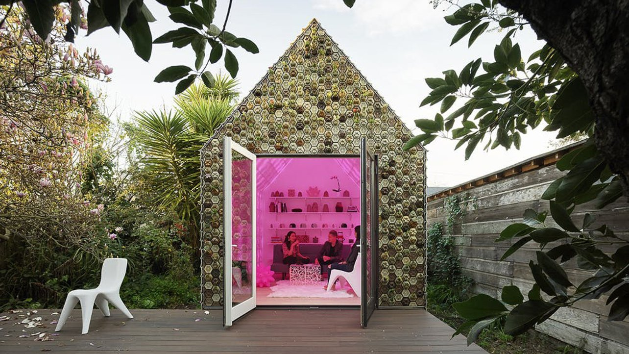 Featured image of 3D Printed Cabin of Curiosities Aims to Address Housing Shortage