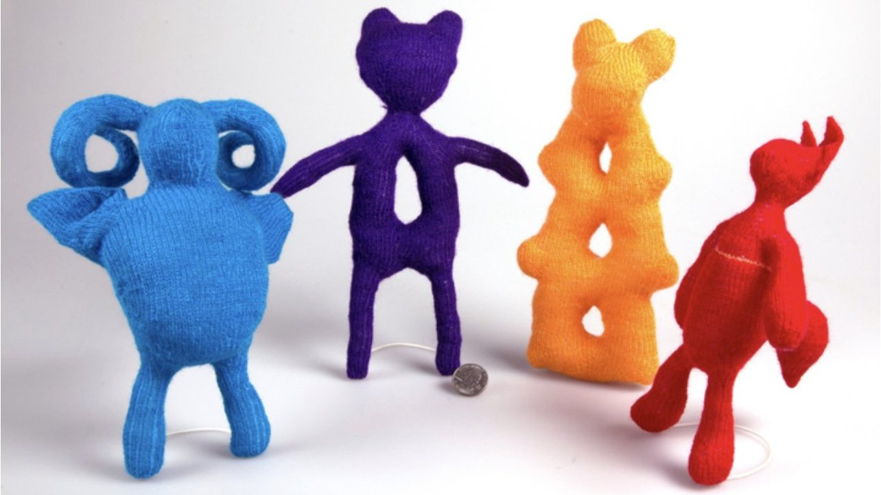 Featured image of Researchers Create Knitted Replicas of 3D Printing Models
