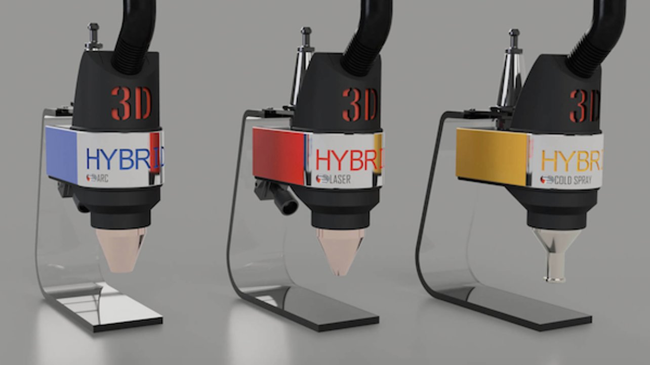 Featured image of 3D Hybrid Solutions Adds Metal 3D Printing Capabilities to CNC Machines