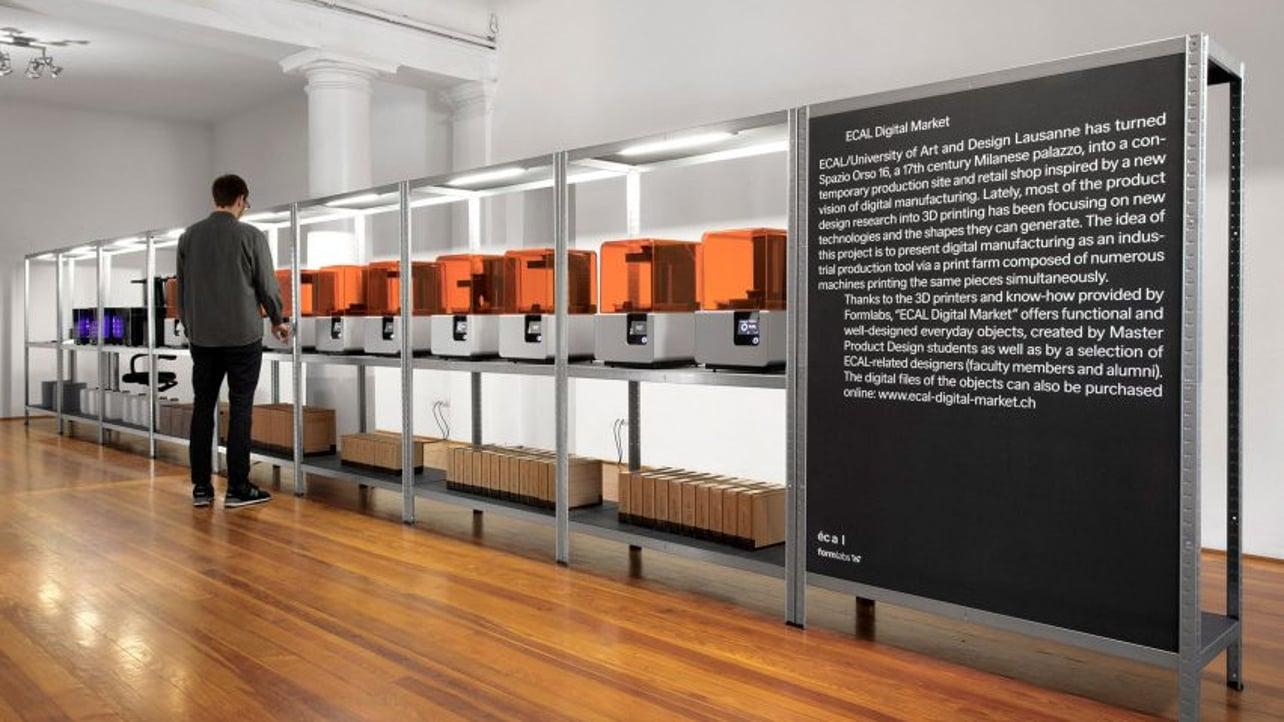 Featured image of Designer Items 3D Printed On Demand at Milan Design Week