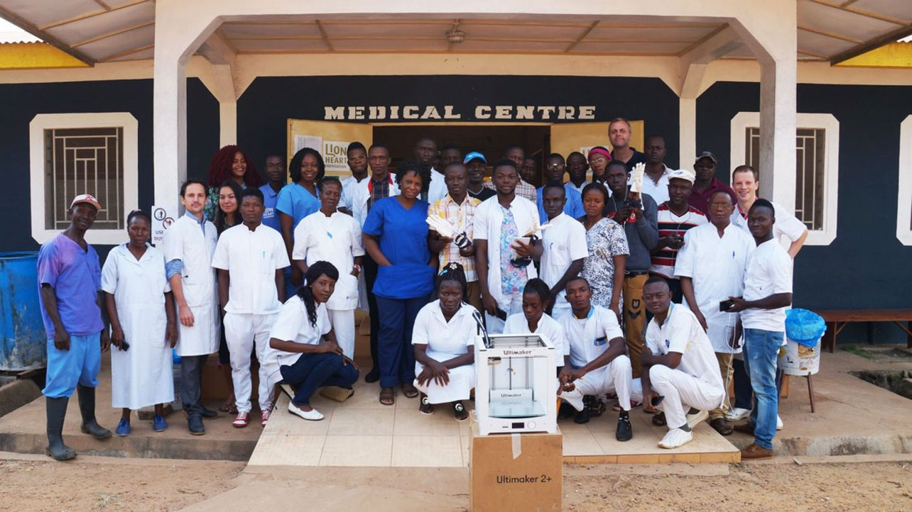Featured image of How 3D Printing Empowers Locals in Sierra Leone