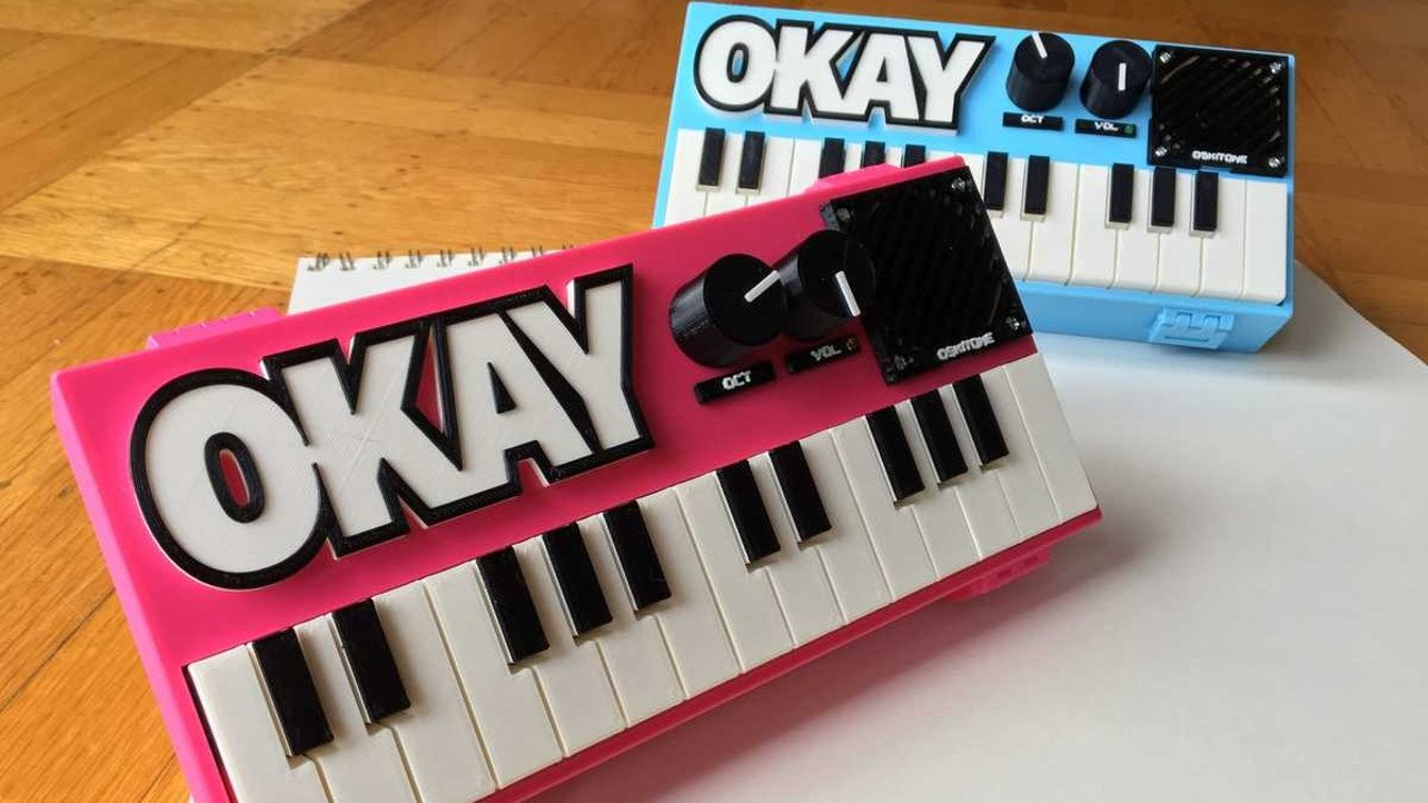 Featured image of [Project] 3D Printed OKAY 2 Synth Brings Music to the Maker's Ears