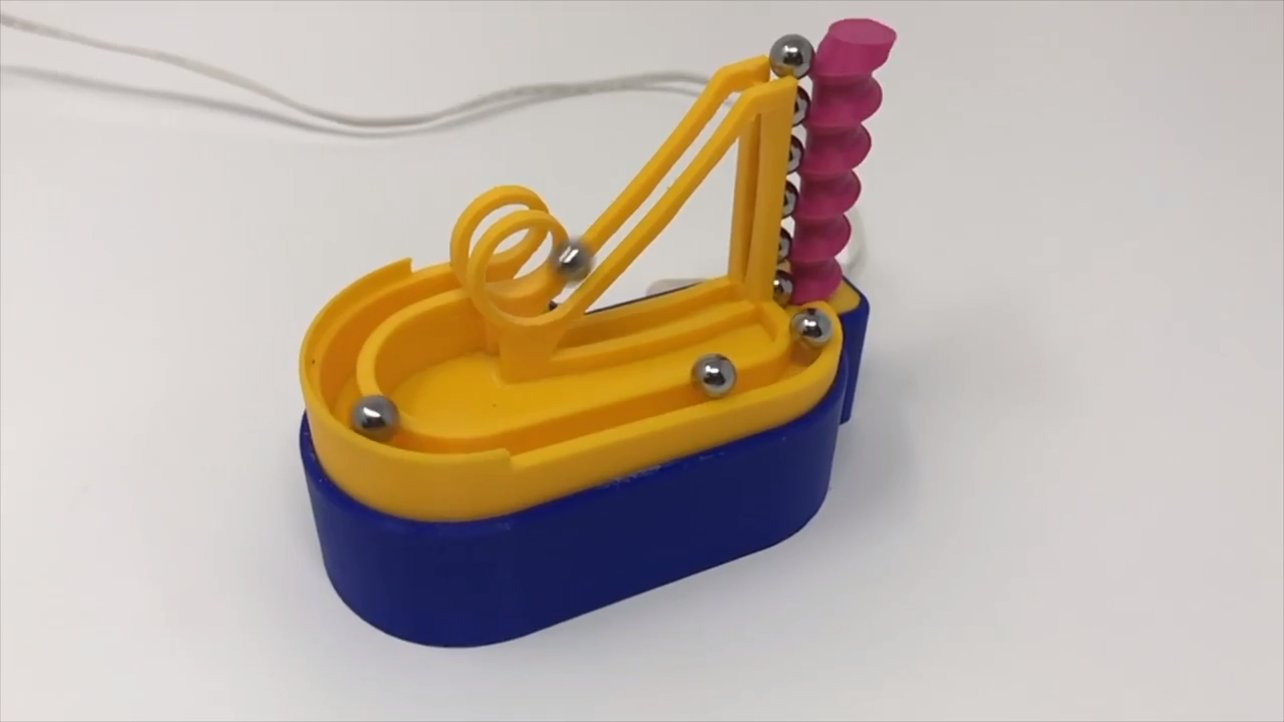 Featured image of Project of the Week: 3D Printed High-Speed Marblevator Mini Machine