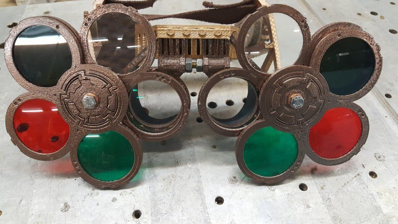 Featured image of [Project] 3D Print Your Own Workshop-Ready Steampunk Goggles