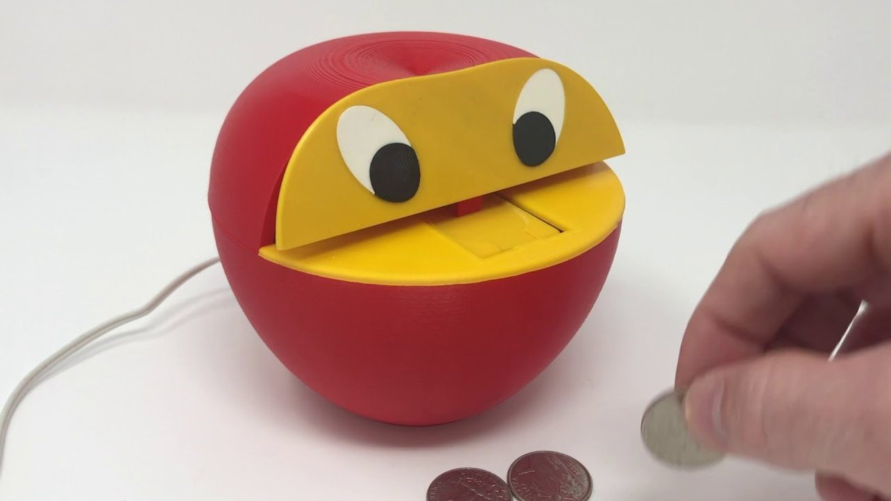 Featured image of [Project] Start Saving with a 3D Printed Apple Coin Bank