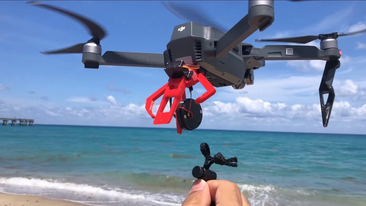 Featured image of [Project] Build a Claw for Your Drone