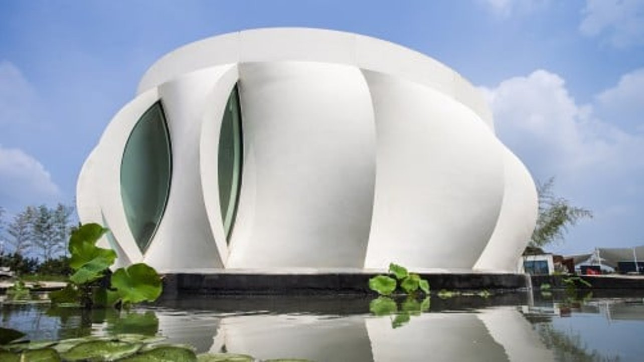 Featured image of US Students 3D Print a Sustainable Lotus House for Solar Decathlon 2018