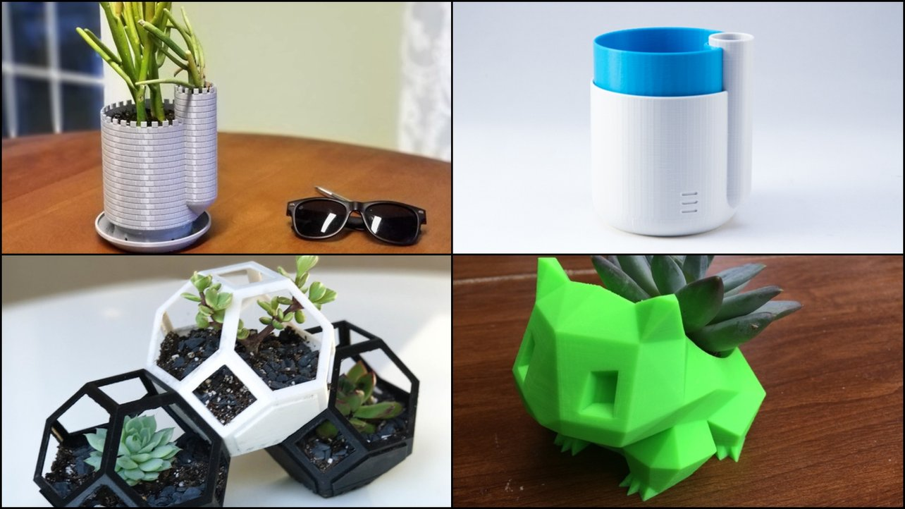 Featured image of 3D Printed Planter: 10 Great Curated Models to 3D Print