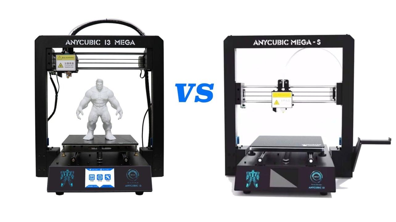 Anycubic I3 Mega Vs Anycubic Mega S 3d Printer Shootout