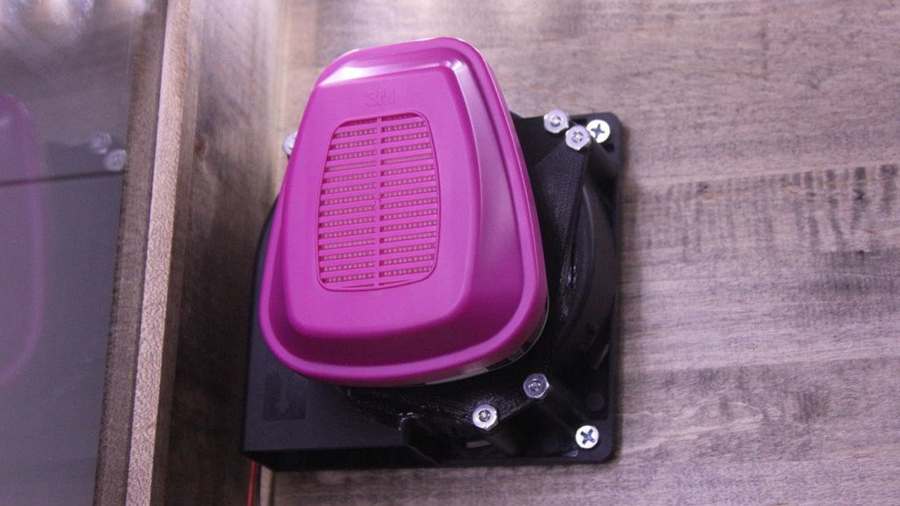 Featured image of [Project] 3D Printed Air Purifier to Reduce ABS Odor and Harmful VOC's