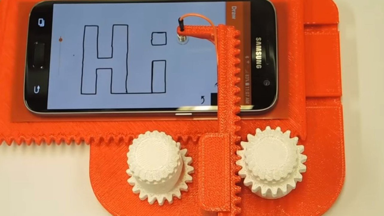 Featured image of [Project] Cell Phone Etch-A-Sketch