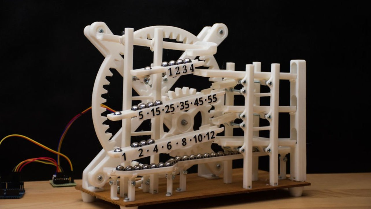 Featured image of [Project] 3D Printed Marble Clock