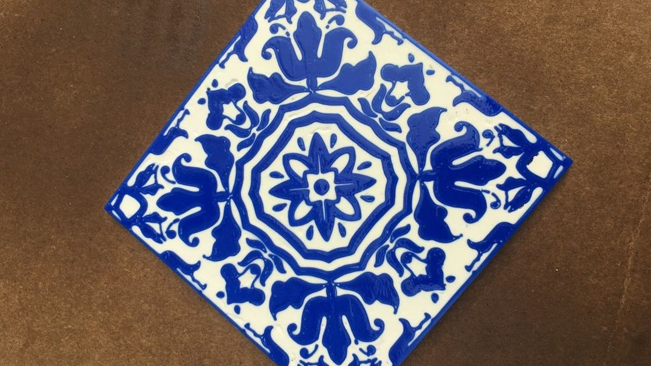 Featured image of [Project] How to 3D Print Portuguese Azulejo Tiles