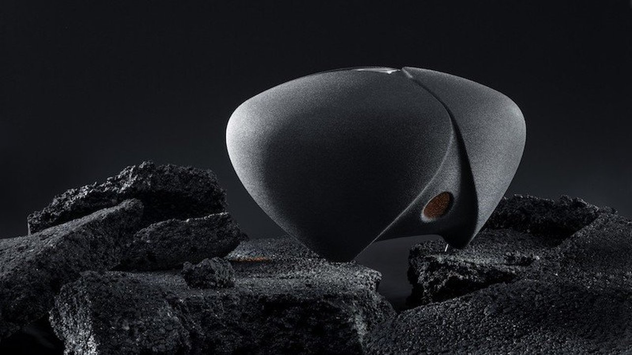 Featured image of DEEPTIME Studio Unveils 3D Printed Speakers Made From Sand