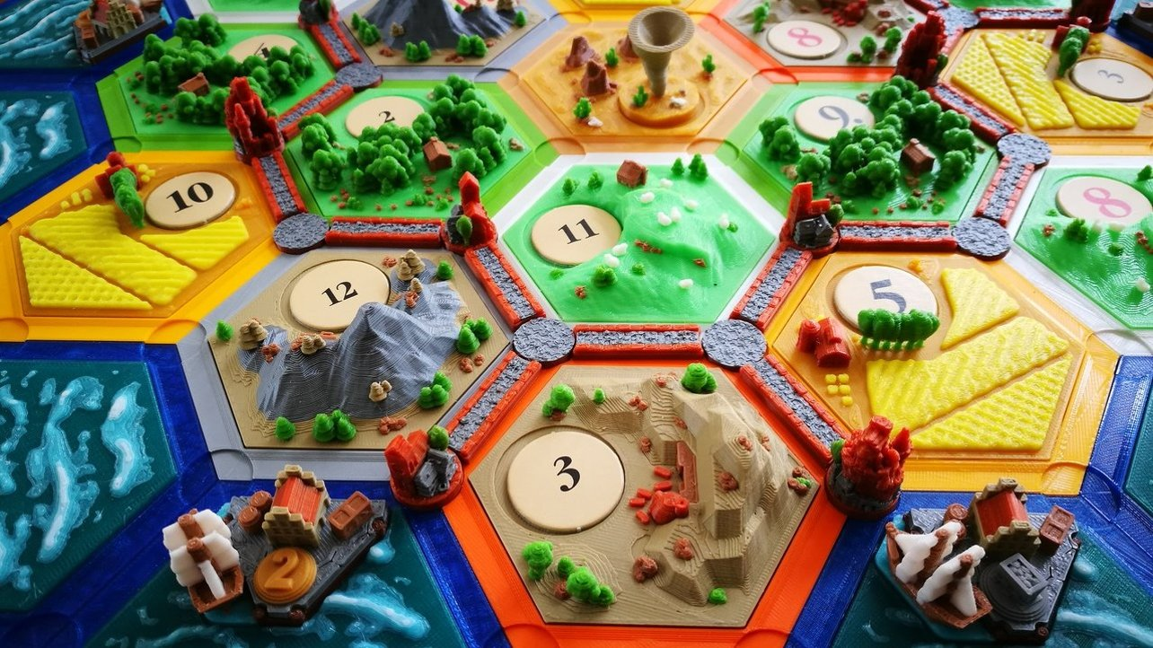 Featured image of 3D Printed Tabletop/Board Games: Best Sites