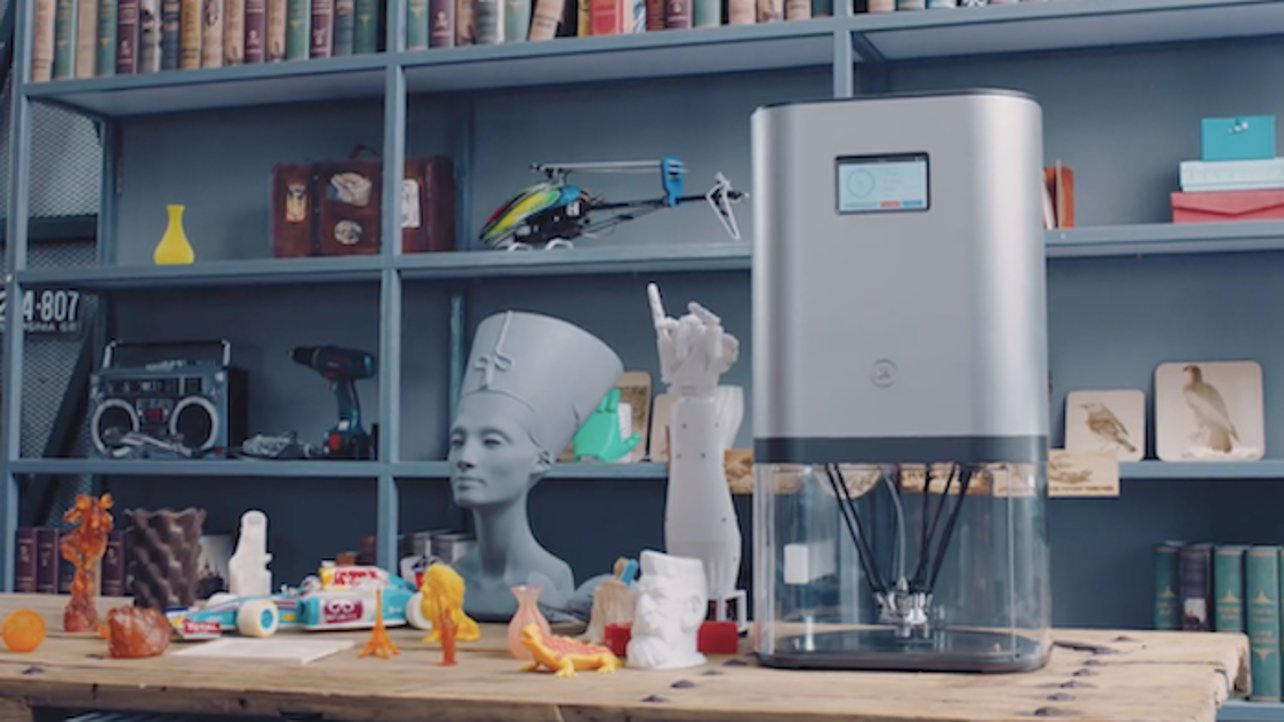 """Featured image of Kickstarter 3D Printer """"IVI"""" Looks Like the Tiko, Promises To Do Much Better"""