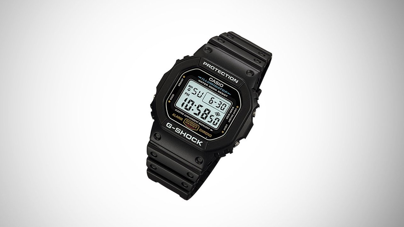 Featured image of [STUFF] Casio G-Shock DW5600E-1V Watch