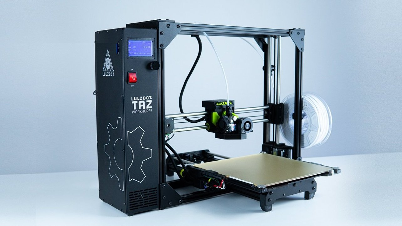 Featured image of LulzBot Taz Workhorse Review: 10-Hour Testing