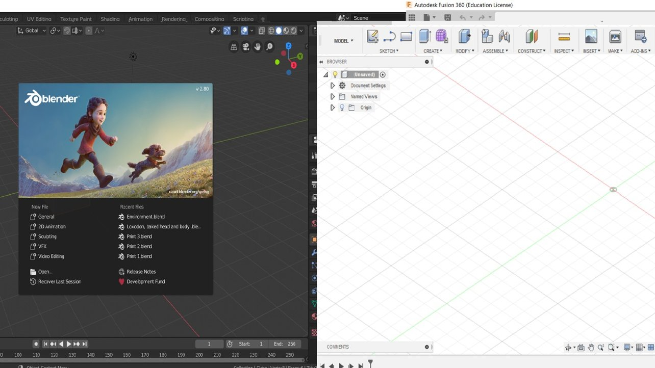 Fusion 360 Vs Blender The Differences All3dp