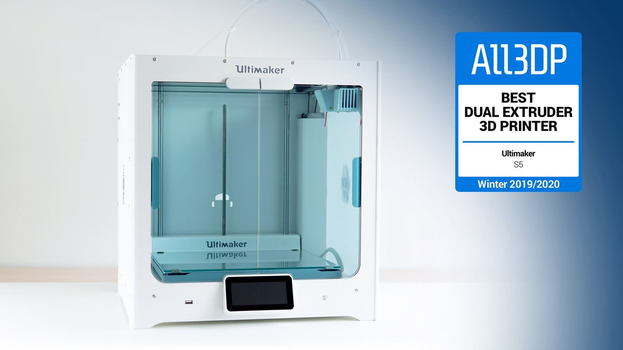 Featured image of Ultimaker S5 Review: Best Dual Extruder 3D Printer