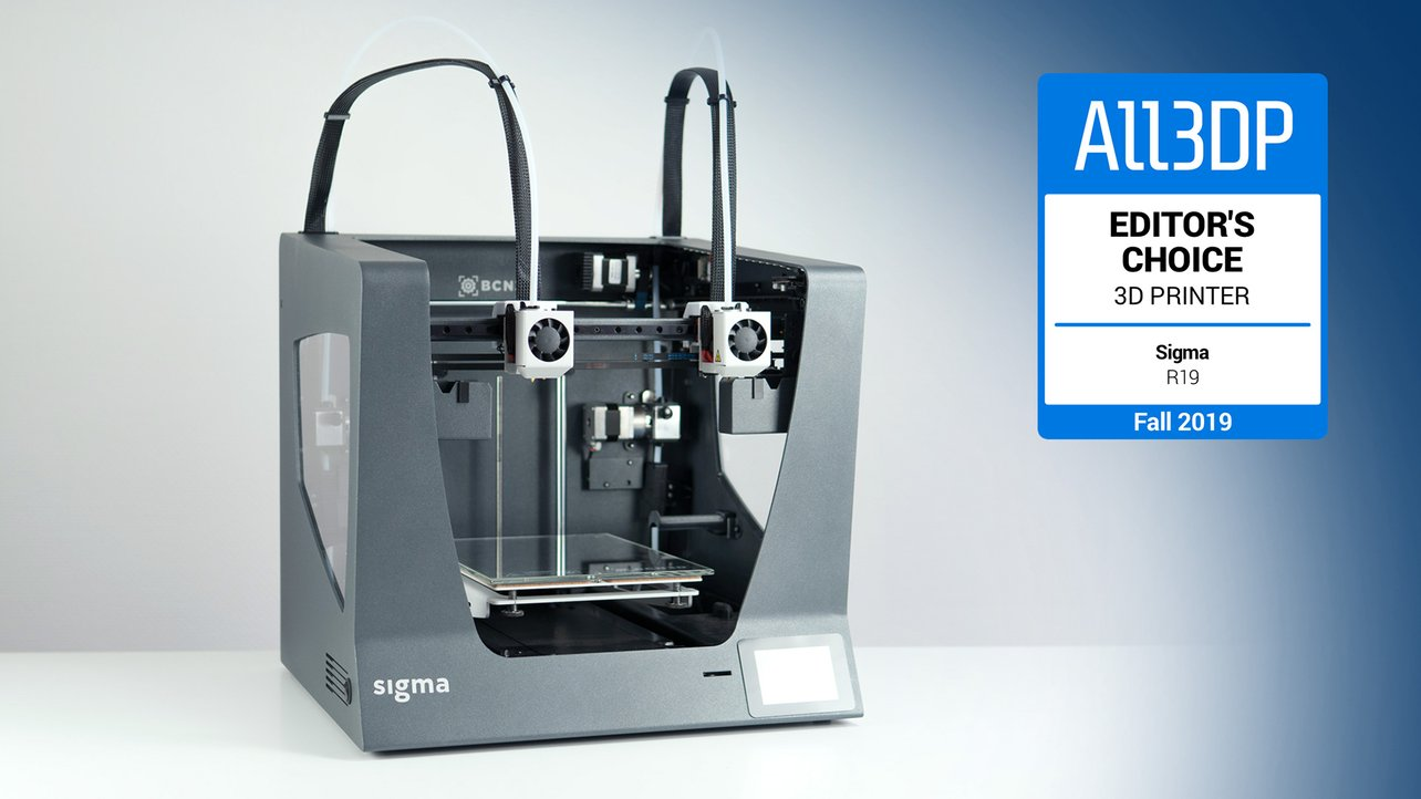 Featured image of 2019 BCN3D Sigma R19 Review: The Best Sigma Yet