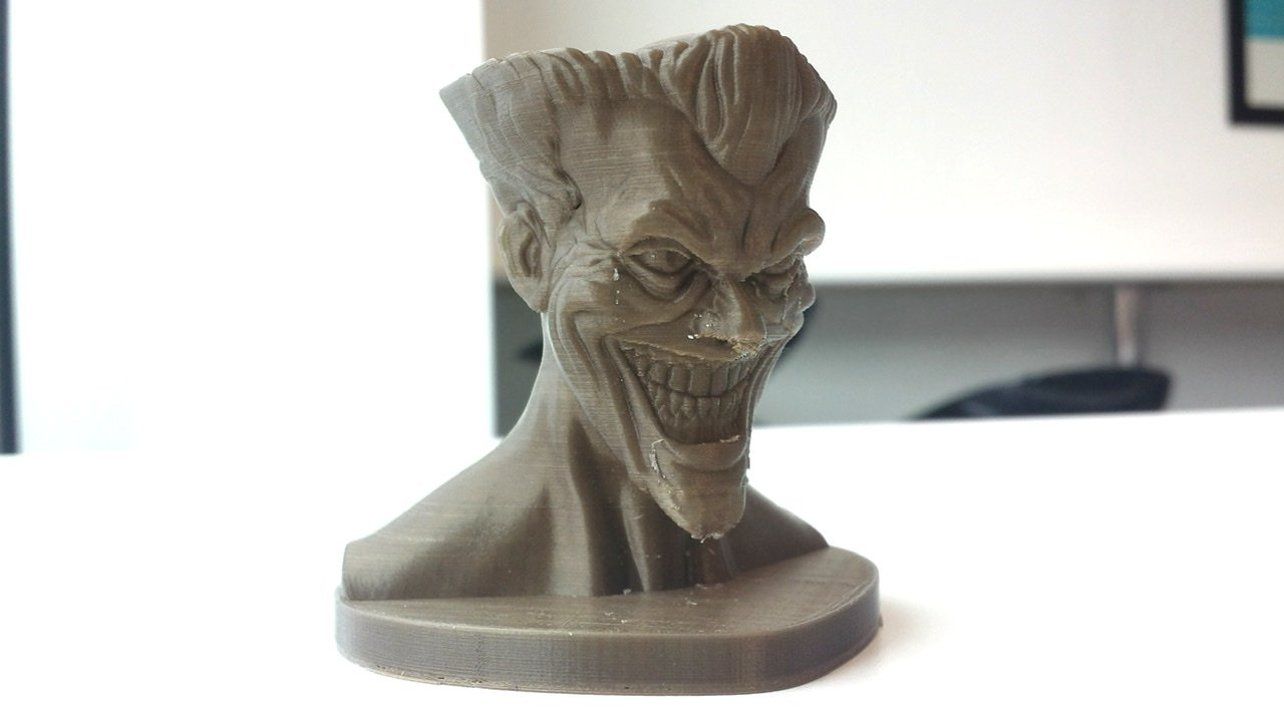 Featured image of The Joker: 7 Great 3D Models to Put a Smile on That Face!