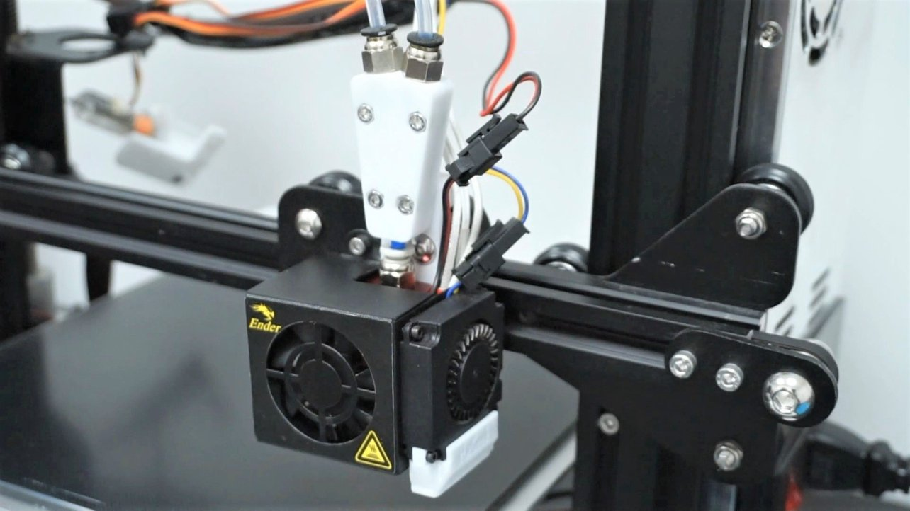 Featured image of Ender 3 (Pro/V2) Dual Extruder: Is It Possible to Upgrade?