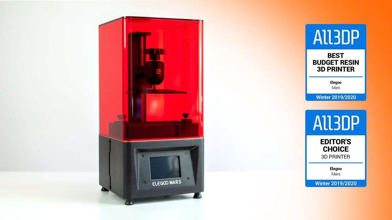 Imagen principal de Elegoo Mars: una gran impresora 3D de resina barata