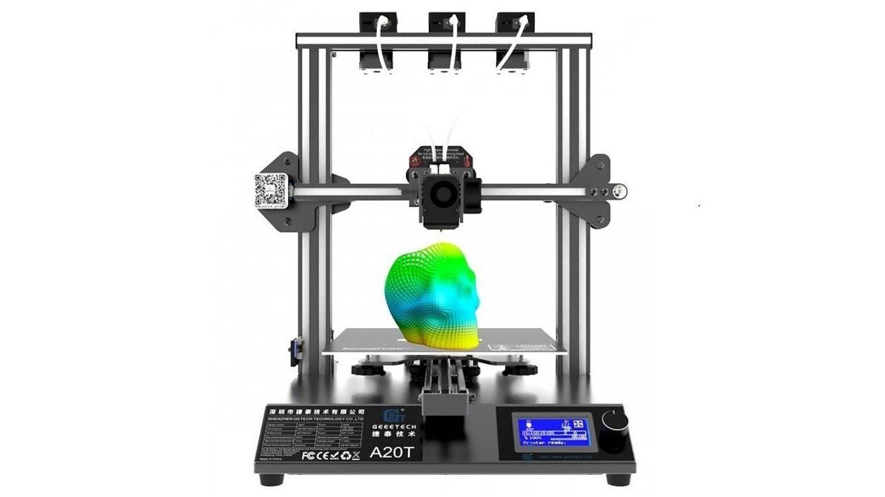 Featured image of 2020 Geeetech A20T 3D Printer: Review the Specs