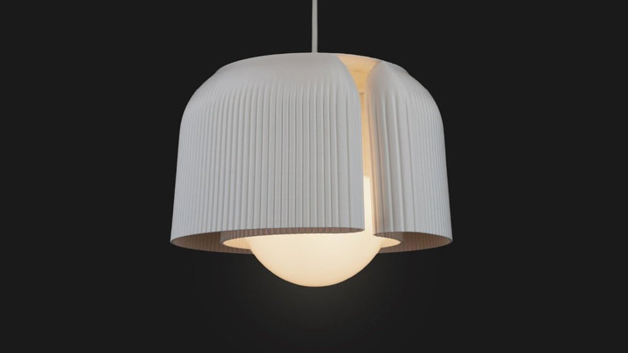 Featured image of 3D Printed Lampshade Collection Made from Recycled Plastic