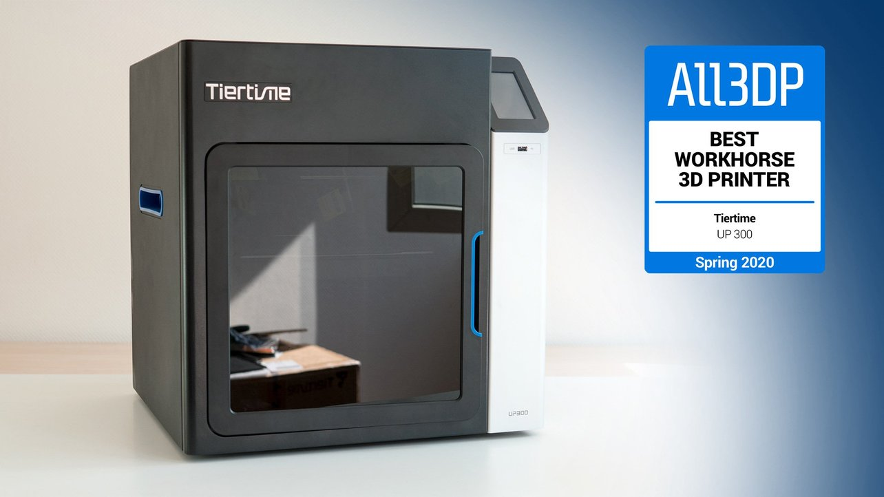 Featured image of Tiertime UP300 Review: Best Workhorse 3D Printer 2020