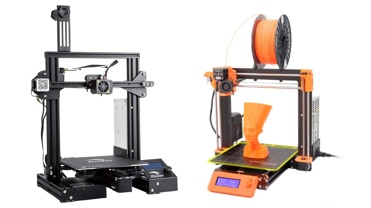 Featured image of Creality Ender 3 (Pro) vs Prusa i3 MK3S