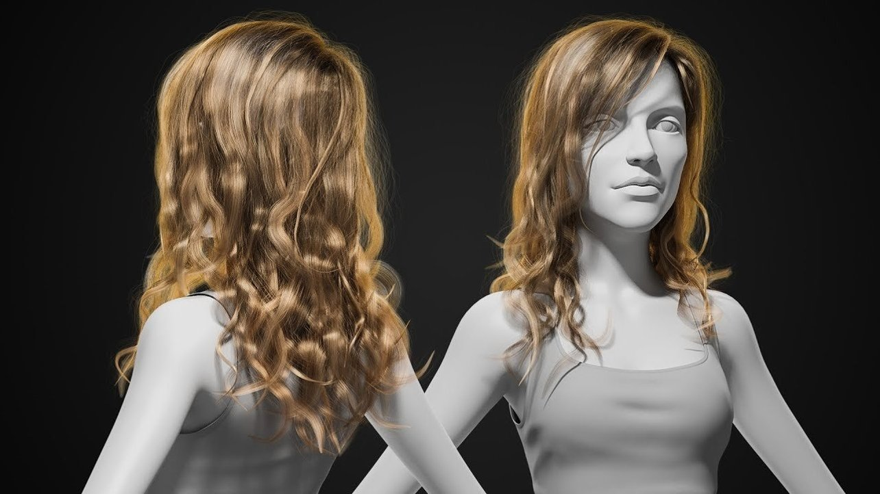 Featured image of Modeling Hair in Blender – Simply Explained