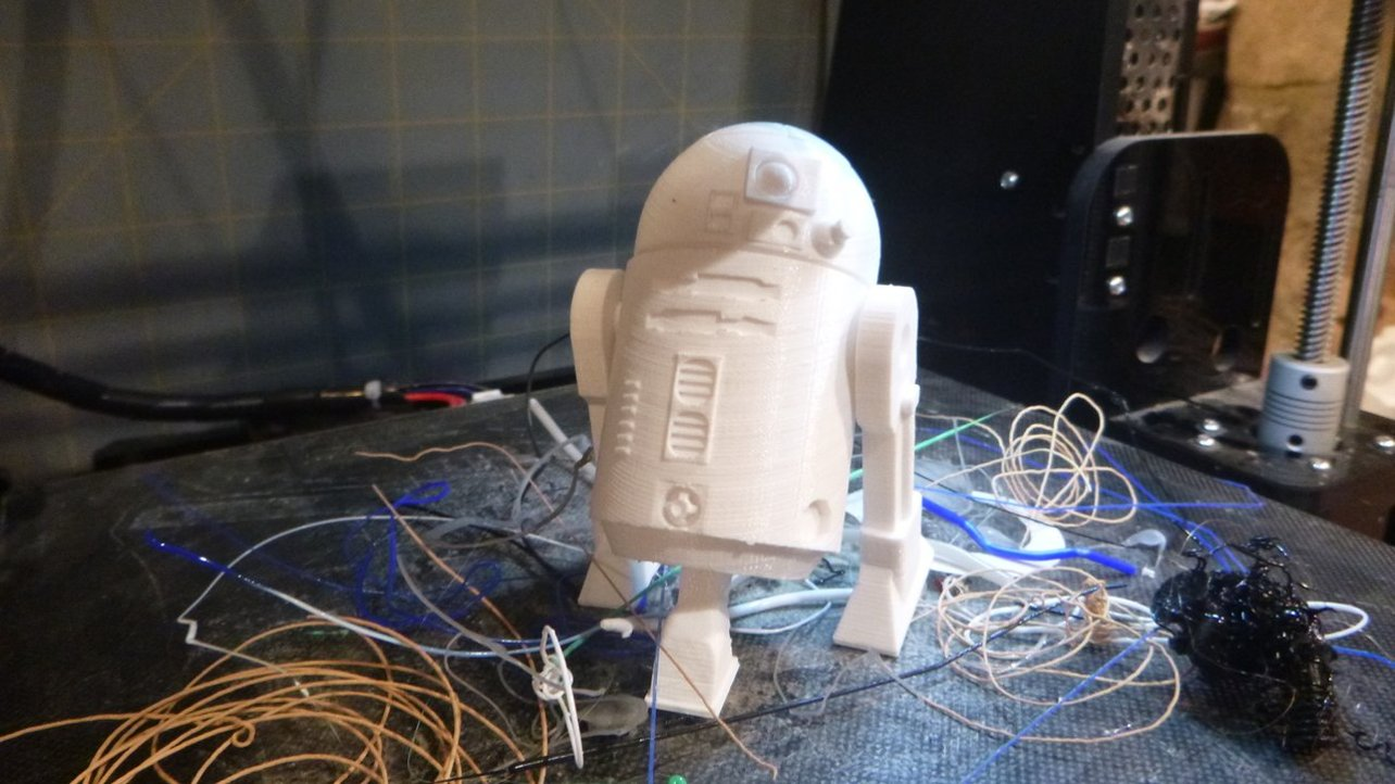 Featured image of 3D Printed R2-D2: 10 Curated 3D Models