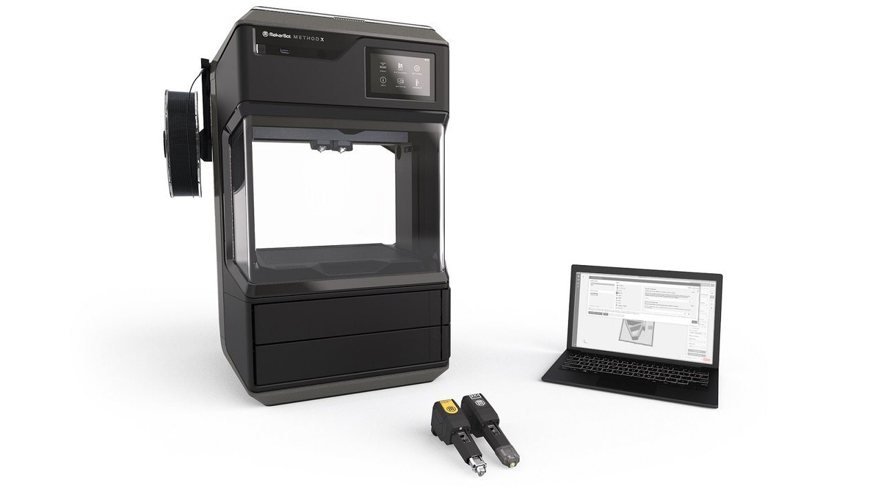Featured image of MakerBot Opens its Method 3D Printer to Third-Party Filament