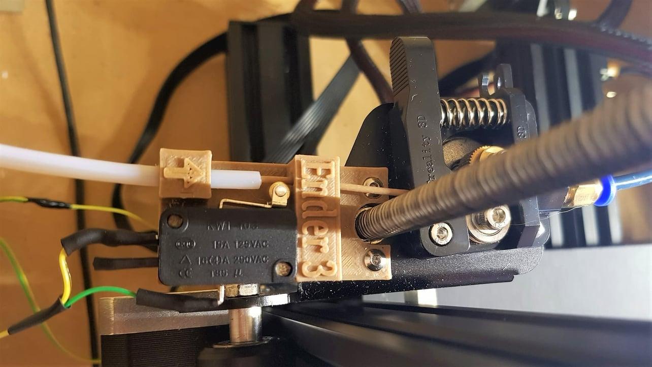Featured image of Ender 3 Filament Sensor Upgrade: 3 Easy Steps