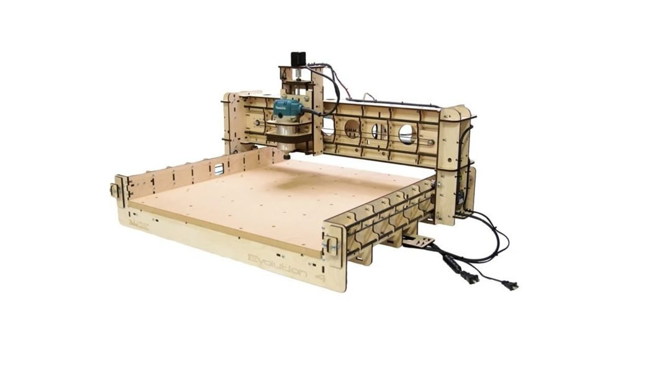 Featured image of BobsCNC Evolution 4 CNC Router Kit: Review the Specs