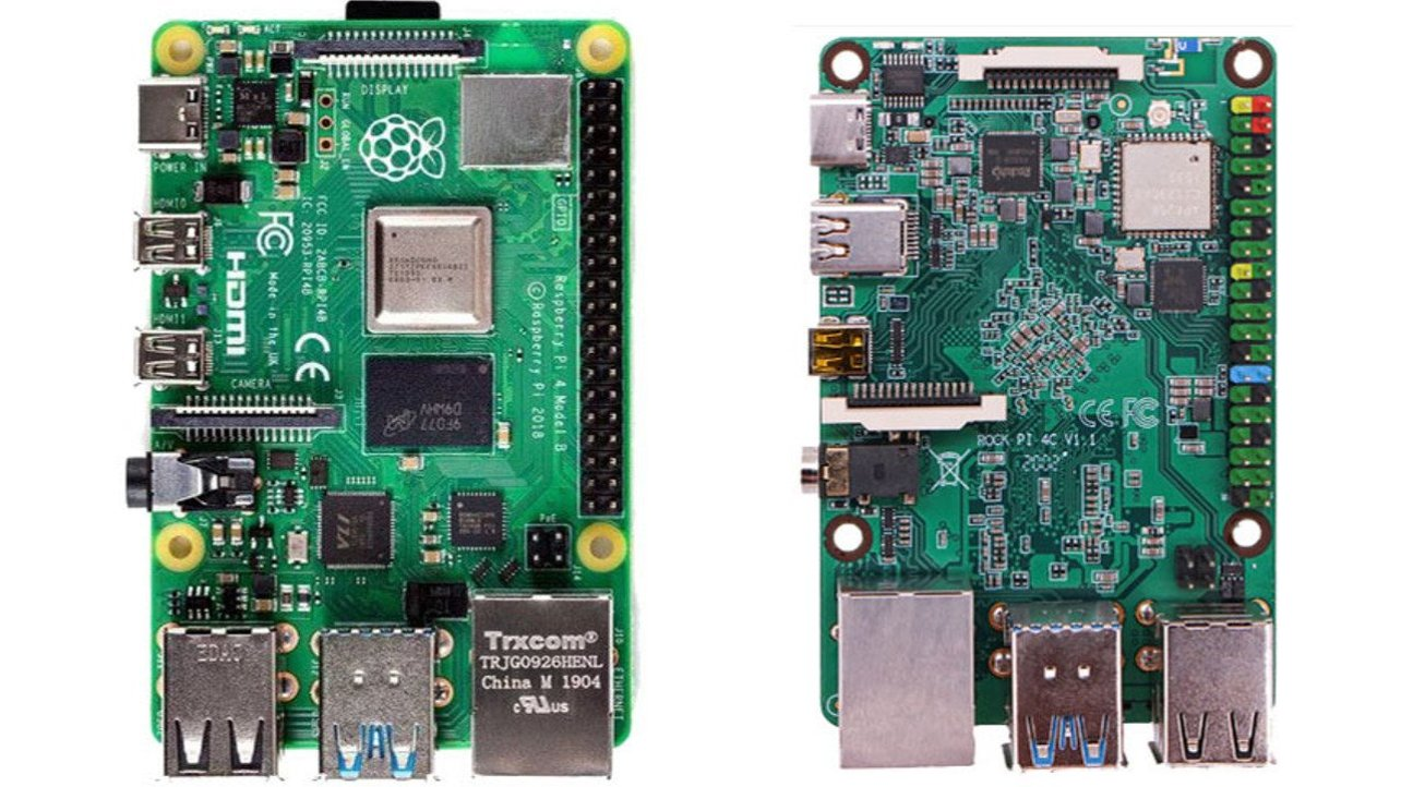 Featured image of Rock Pi 4 vs Raspberry Pi 4: The Differences