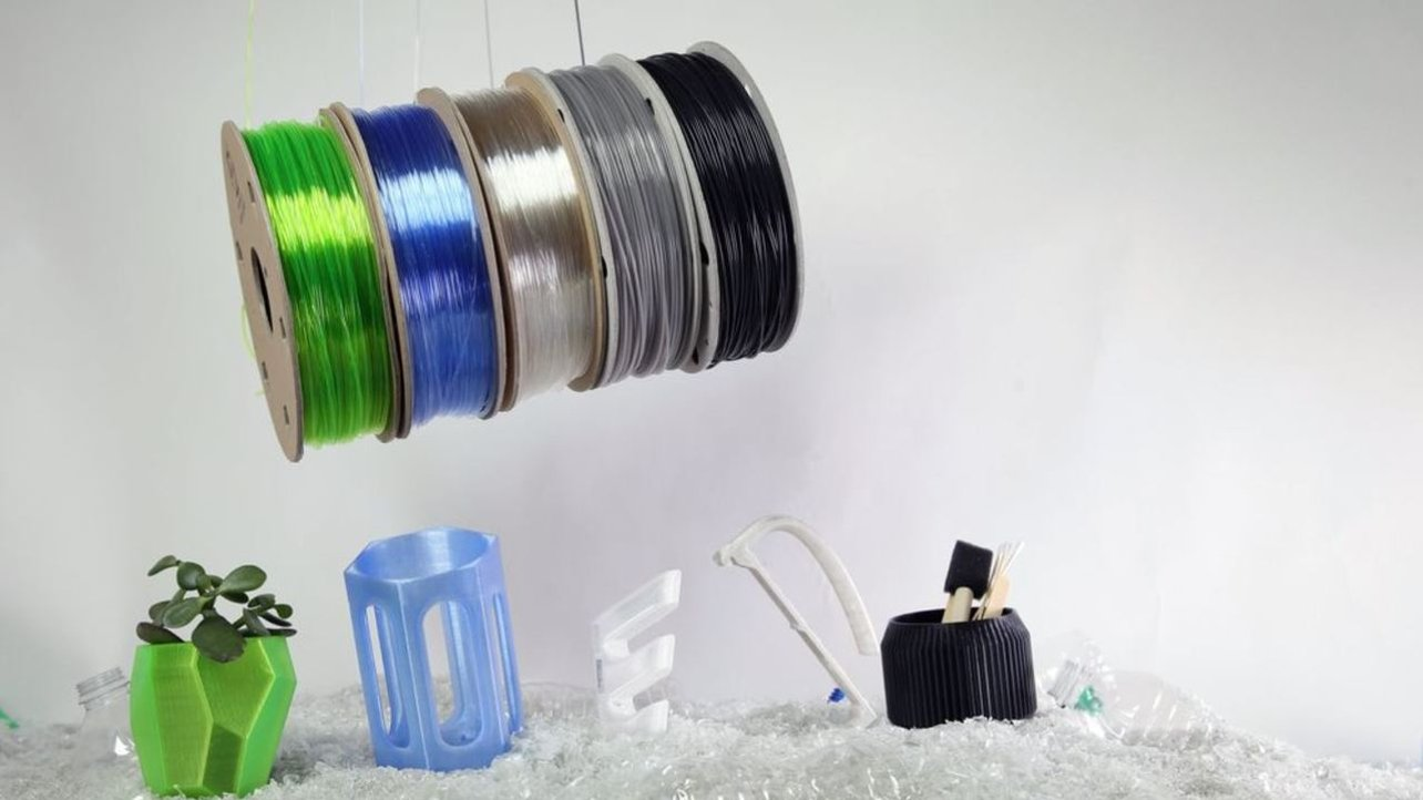 Featured image of Recycled 3D Printer Filament: The Basics & Best Brands
