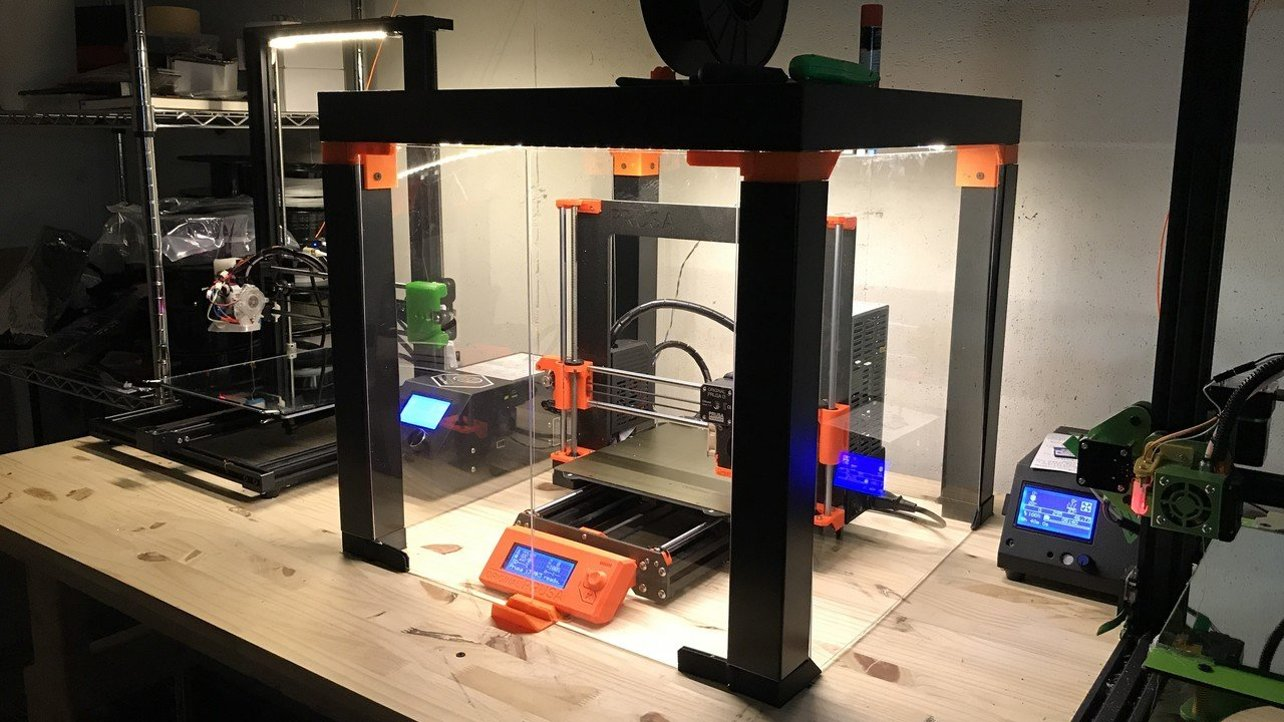 Featured image of Prusa Enclosure: 8 Simple Solutions for the MK3S