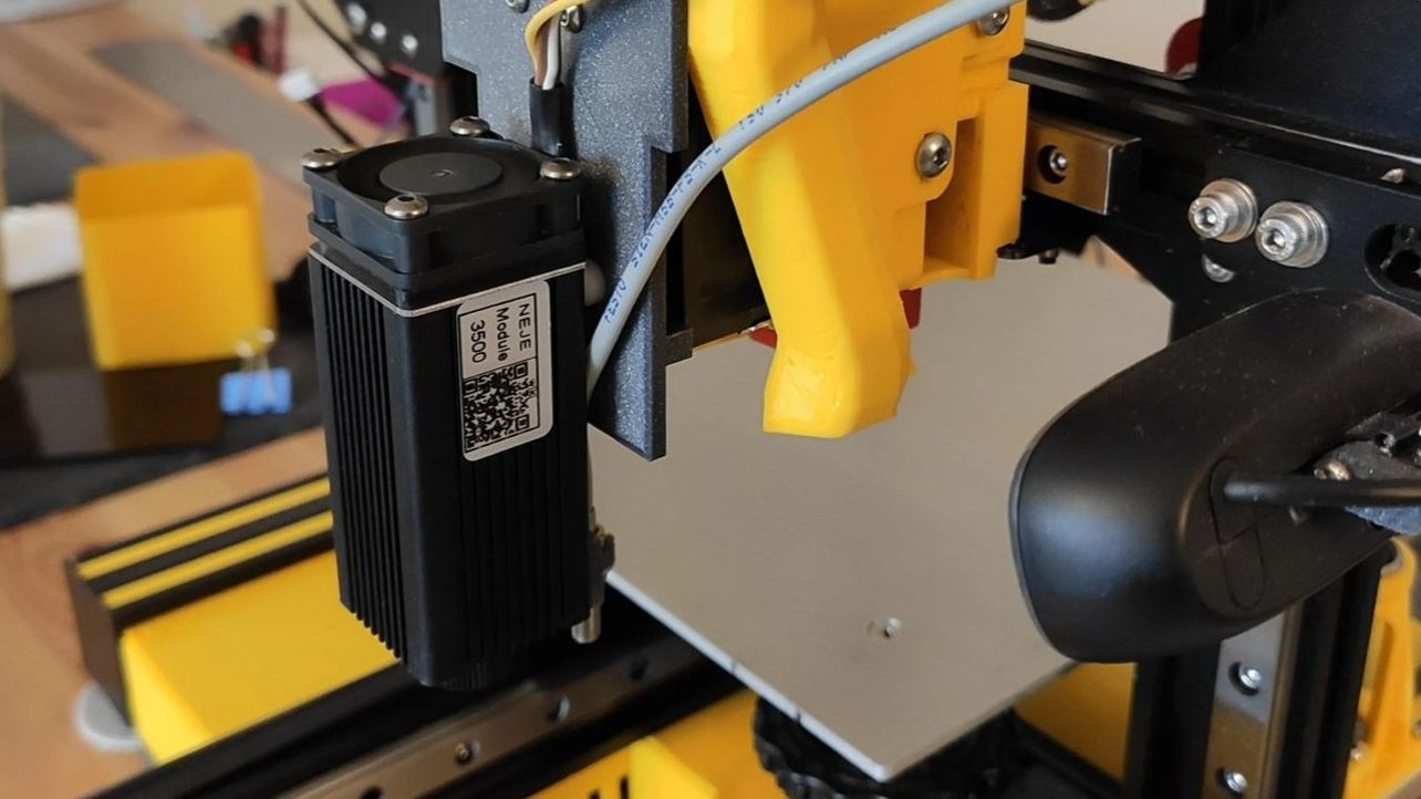 Featured image of Ender 3 (Pro/V2) Laser Engraver Upgrade: How to Install It