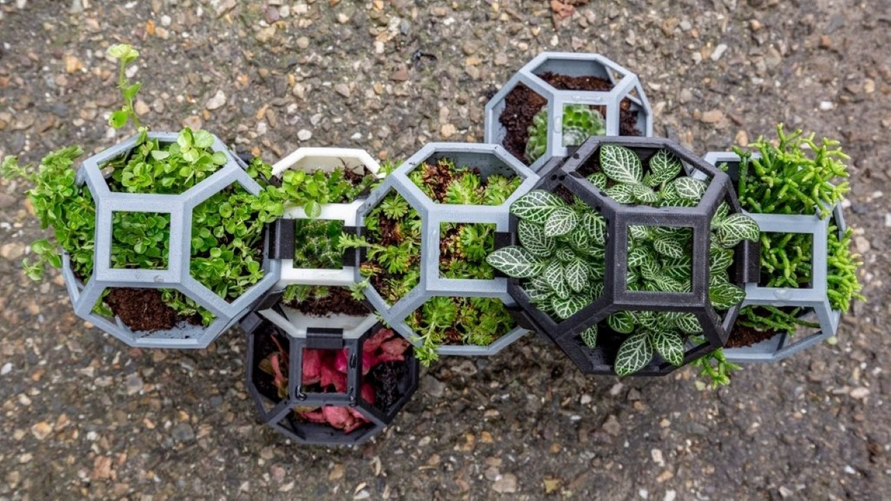 Featured image of 3D Printed Planter: 15 Great Models for Green Thumbs