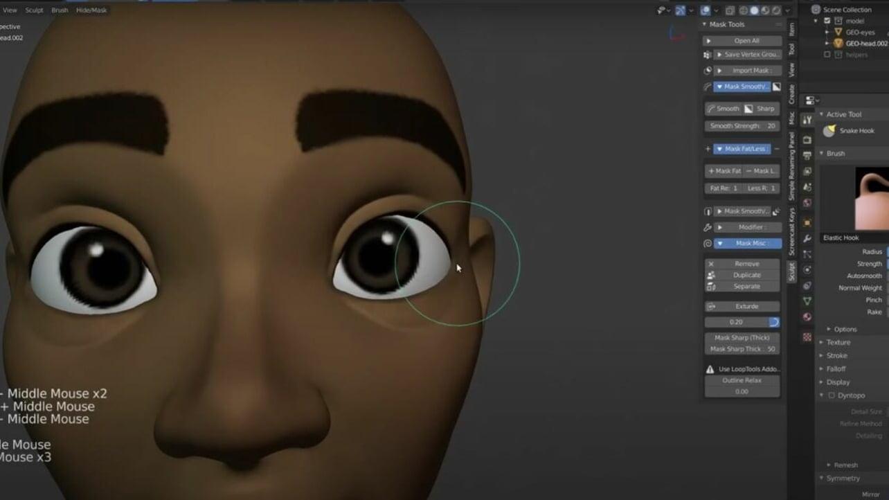 Featured image of Blender Human Model: 8 Best Sources for 3D Models