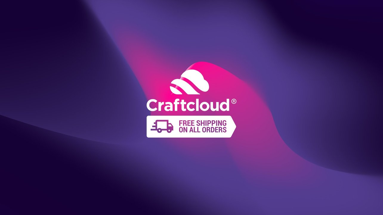 Featured image of Craftcloud Special: Free Shipping on All 3D Printed Parts